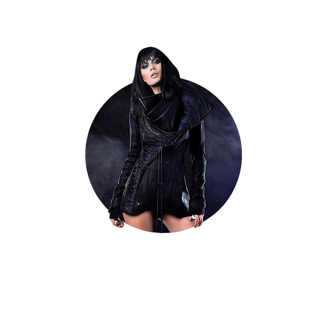 Night Sky jacket by Iva Sokovic
